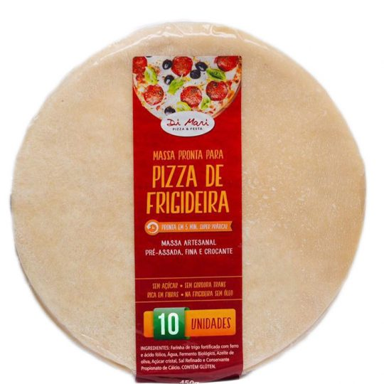 kit massa de pizza