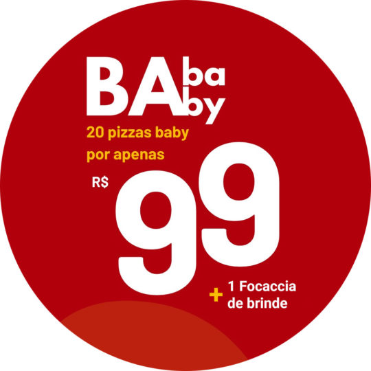 baba baby promoção