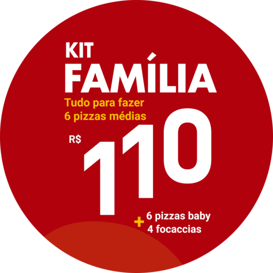 kit familia pizza di mari