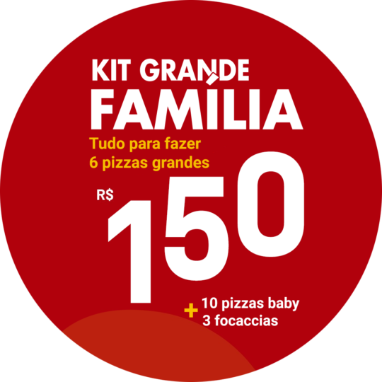 kit grande familia pizza di mari