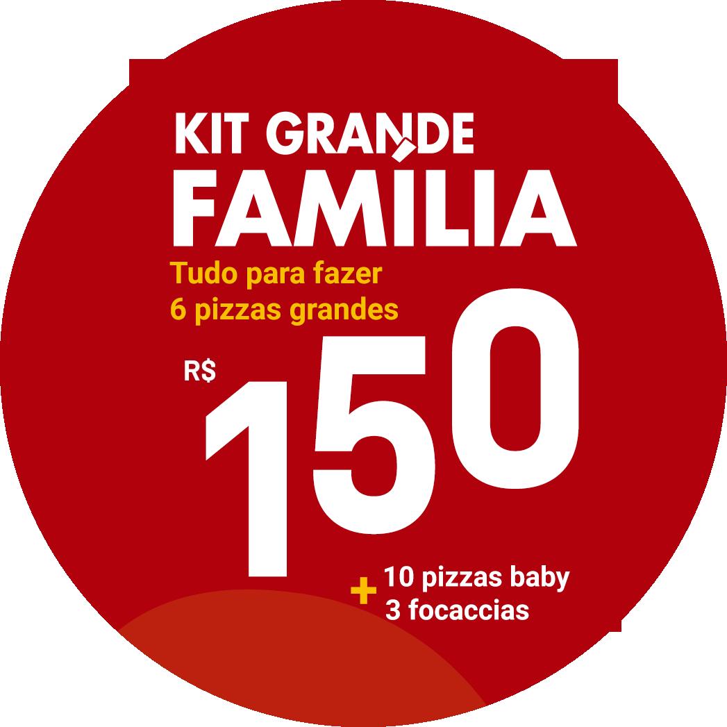 kit grande familia pizza di mari